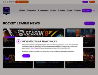 rocket-league.com screenshot