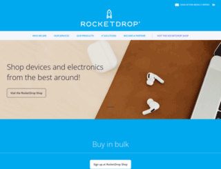 rocketdrop.com screenshot
