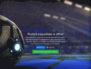 rocketleaguestats.com screenshot
