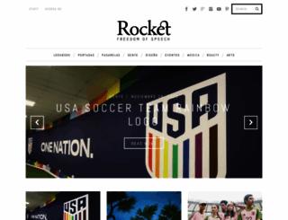 rocketmagazine.net screenshot