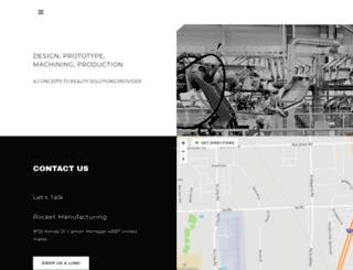 rocketmanufacturing.com screenshot
