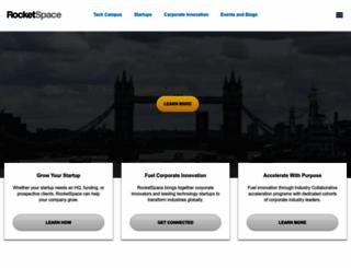rocketspace.com screenshot
