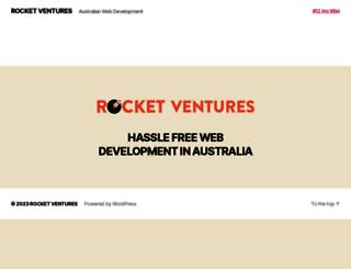 rocketventures.com.au screenshot