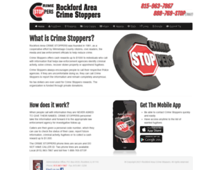 rockfordcrimestoppers.com screenshot
