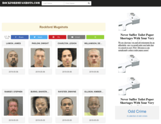 rockfordmugshots.com screenshot