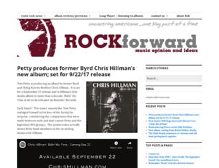 rockforward.wordpress.com screenshot