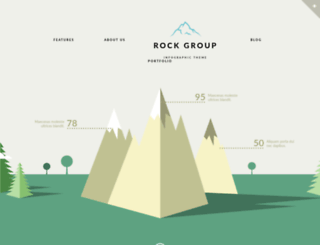 rockgroup.themerex.net screenshot