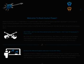 rockguitarpower.com screenshot