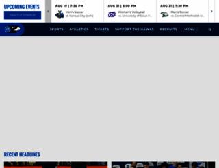 rockhursthawks.com screenshot