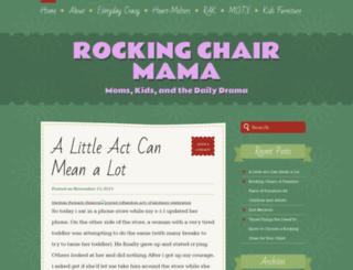 rockingchairmama.wordpress.com screenshot