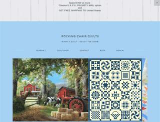 rockingchairquilts.com screenshot