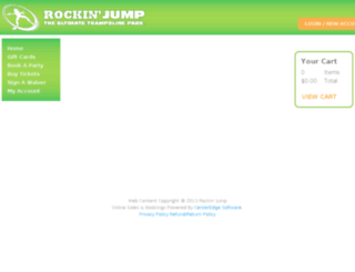 rockinjumpcarolstream.pfestore.com screenshot