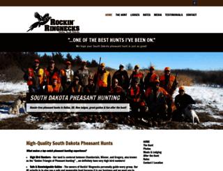 rockinringnecks.com screenshot