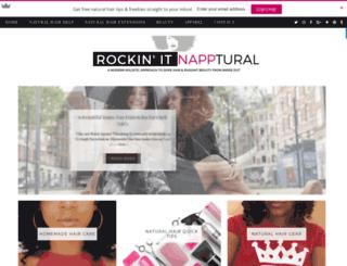 rockitnapptural.com screenshot