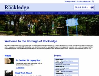 rockledgeborough.org screenshot