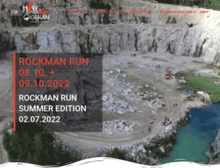 rockmanrun.de screenshot