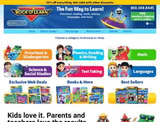 rocknlearn.com screenshot