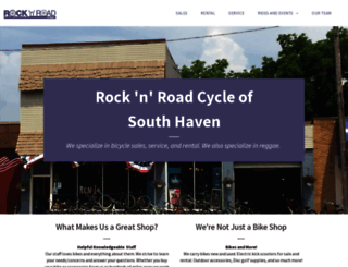 rocknroadcyclesouthhaven.com screenshot