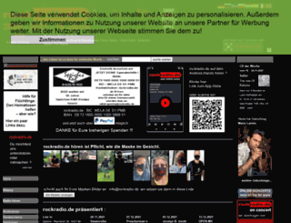 rockradio.de screenshot