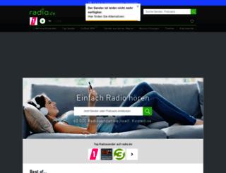 rockradioclassichard.radio.de screenshot