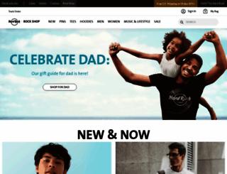rockshop.hardrock.com screenshot