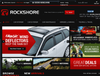 rockshore.uk.com screenshot