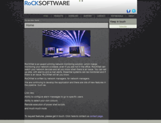 rocksoftware.co.uk screenshot
