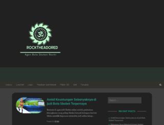 rocktheadored.com screenshot