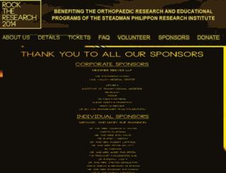 rocktheresearch.com screenshot
