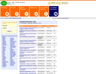 rockwell-automation.jobs.net screenshot
