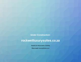 rockwellhotel.co.za screenshot
