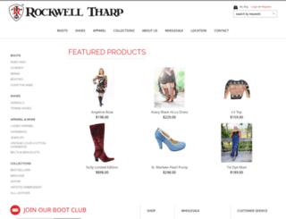 rockwelltharpdev-com.3dcartstores.com screenshot