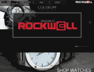 rockwelltime.myshopify.com screenshot