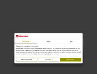 rockwool.nl screenshot