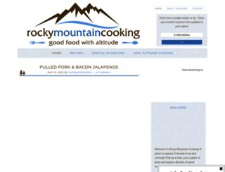 rockymountaincooking.com screenshot