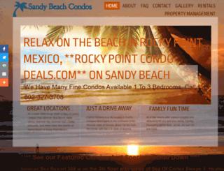 rockypointcondodeals.com screenshot