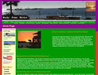 rockypointreview.com screenshot