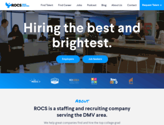 rocsstaffing.com screenshot