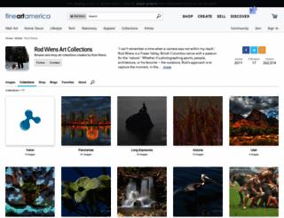 rod-wiens.artistwebsites.com screenshot
