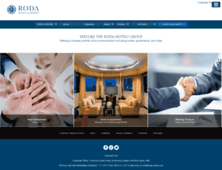 roda-hotels.com screenshot
