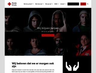 rodekruis.nl screenshot