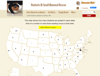 rodent.rescueme.org screenshot