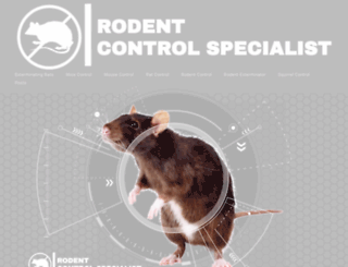 rodentcontrolspecialist.com screenshot