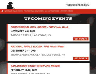 rodeotickets.com screenshot