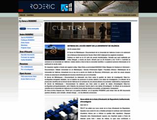 roderic.uv.es screenshot
