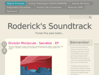 roderickssoundtrack.blogspot.com screenshot