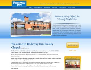 rodewayinnwesleychapel.com screenshot