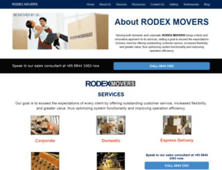 rodexmovers.com screenshot