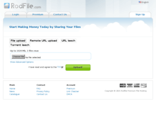 rodfile.com screenshot