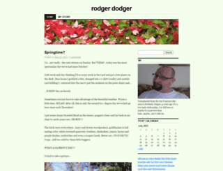 rodgerdodger.wordpress.com screenshot